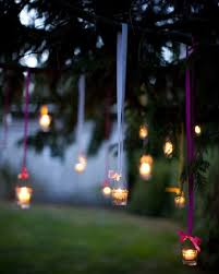 outdoor lighting for wedding with candle ideas candle lighting ideas