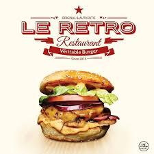 Le <b>Retro Burger</b> - Home - Clichy, Hauts-de-Seine - Menu, Prices ...