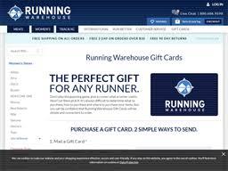 Running Warehouse   Gift Card Balance Check   Balance Enquiry ...