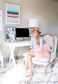 make your self feel pampered while working from home with a luxurious shag rug and a bedroompicturesque comfortable desk chairs enjoy work