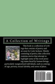 reflections from a trailer park brat a collection of writings reflections from a trailer park brat a collection of writings cody a jackson 9781540572011 com books