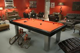 pool table dining tables:  contemporary pool table convertible dining tables not specified loft billards toulet baby
