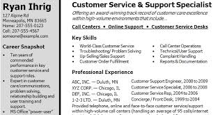 resume examples  skills section of resume examples resume format        resume examples  section of resume examples for customer service and support specialist with key skills