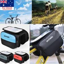 <b>Bike Handlebar Bag Bicycle</b> Front Cell Phone Holder Case <b>MTB</b> ...
