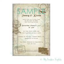 travel invitation template sample