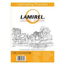 <b>Пленка для ламинирования Lamirel</b> А4, 216x303 (100мкм) 100 шт ...