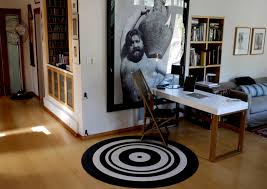 inspiring linoleum circle rug modern home office los angeles by crogan home design designs carpet oval office inspirational