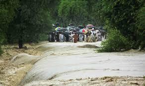 essay on a devastating flood