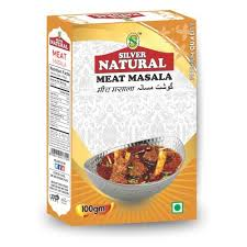 Silver <b>Natural 100g</b> Premium Quality Meat Masala, Packaging Size ...