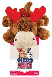 <b>KONG</b> Holiday <b>игрушка</b> для собак Cozie Олень средний 15 см