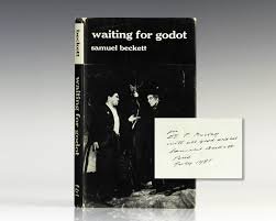 waiting for godot samuel beckett first edition signed waiting for godot a tragicomedy in two acts