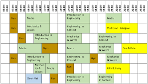 exams are getting ever closer informs samplerevtimetable