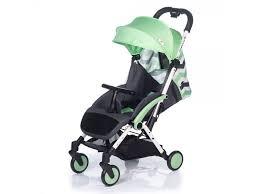 <b>Коляска прогулочная BabyHit, Amber</b> Plus зеленый с зигзагом ...