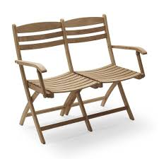 Skagerak Selandia Outdoor 2 Seater <b>Bench</b>/Chair <b>100cm</b> ...