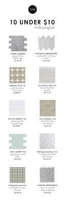 best ideas about ceramic subway tile white 10 under 10 backsplash tile