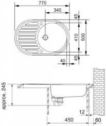 <b>Мойка Franke PML</b> 611, Нержавеющая сталь, декор купить в ...