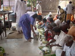 Image result for images of annadanam to poor people
