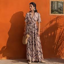 <b>VERRAGEE</b> women <b>maxi dress</b> leopard print 2019 new spring ...