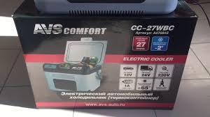 <b>Автомобильный холодильник AVS</b> CC 27WBC охлаждает до -2 ...