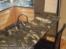 Titanium Granite Kitchen Stonemason