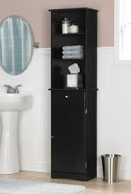 Bathroom Tower Storage Bathroom Linen Tower Transitional Bathroom Cabinets And Shelves