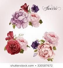 <b>Vintage Flowers</b> Images, Stock Photos & Vectors | Shutterstock