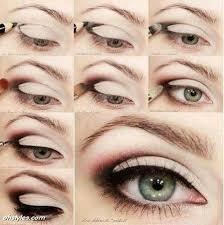 simple pretty eyeshadow eyeliner tutorial makeup