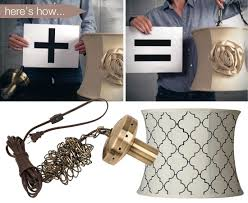 make your own lighting with a plug in swag light kit chandelier lighting kit