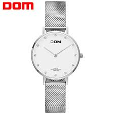 <b>Watch Women DOM Top</b> Brand Luxury Quartz <b>watch</b> Casual quartz ...