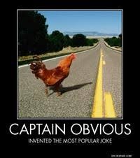 Captain Obvious: Image Gallery | Know Your Meme via Relatably.com