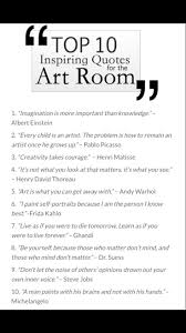 best ideas about art education art education art room quotes more