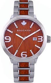 BRIGADA <b>Luxury Watches</b> for Men Gorgeous Luminous <b>Red</b> ...