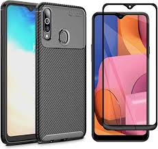 Abbeen Samsung Galaxy A20S Case and Screen ... - Amazon.com