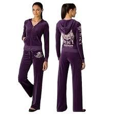 Juicy Couture <b>Velour</b> Scottie Tracksuits-Purple | Бархат, Спорт
