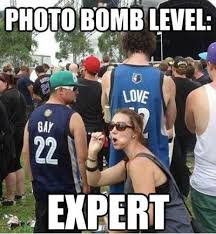 FunniestMemes.com - Funniest Memes - [Photo Bomb Level Expert...] via Relatably.com