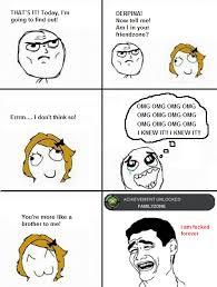 Meme Comic - Escape from friendzone via Relatably.com