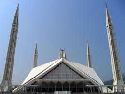 faisal mosque jpg faisal mosque from main courtyard
