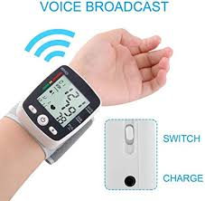 <b>LCD Digital</b> Display Upper <b>Arm Cuff</b> Automatic <b>Wrist</b> Bp ...