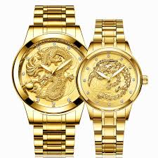 <b>FNGEEN</b> Couple Watch Men Dragon Women Phoenix Watches <b>Top</b> ...
