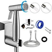 2 Sprayer Moles Stainless Steel <b>Bathroom Handheld Spray</b> for Cloth ...