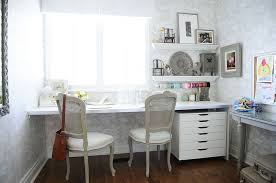 view in gallery cozy home office and crafts zone with shabby chic style from simply home decorating chic home office office