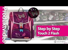 <b>Step</b> by <b>Step</b> Schulranzen Touch 2 Flash - Produktvideo - YouTube