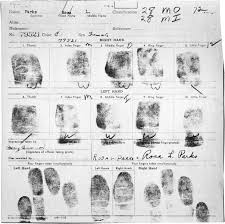 rosa parks historynet the fingerprint card of rosa parks was produced in association her arrest for refusing to