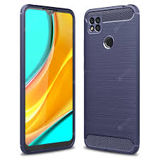 <b>ASLING Carbon Fiber TPU</b> Soft Back Cover Phone Case for Xiaomi ...