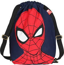 Ecoright Disney <b>Marvel Spider Man</b> Printed Ecofriendly <b>Drawstring</b> ...