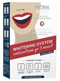 555 руб. <b>GLOBAL WHITE Отбеливающий</b> карандаш для зубов