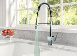 <b>Faucet</b> shop A14X01 <b>New</b> LED <b>Kitchen</b> Swivel Fauce Mixer Tap Pull ...