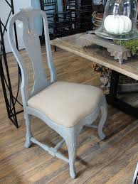 great country dining table chair  casual french country chairs that feature a distressed painted finish
