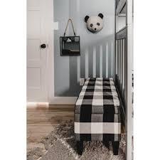 Shop Porch & Den Minna <b>Large</b> Decorative <b>Storage Bench</b> - <b>Black</b> ...