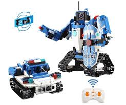 <b>Конструктор Cada</b> Робот-<b>Полицейская</b> машина 2в1 на ...